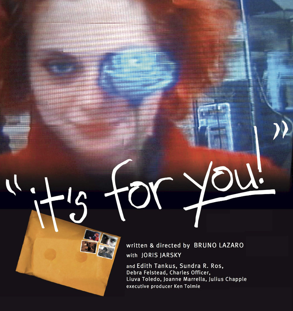 """""""it's for you!"""" poster"""